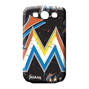 samsung galaxy s3 Scratch-free phone skins Durable phone Cases Excellent Fitted miami marlins mlb baseball