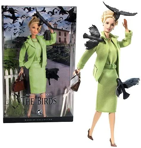 B00142V9X0 Barbie Collector 2008 Black Label - Pop Culture Collection - Alfred Hitchcock's THE BIRDS Barbie Doll 51oqlJEiWaL.