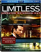 Limitless (Unrated Extended Cut + Digital Copy) [Blu-ray] by 20th Century Fox