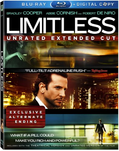 Limitless (Unrated Extended Cut + Digital Copy) - Eye Colour Bradley Cooper