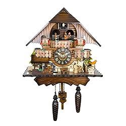 Engstler Quartz Cuckoo Clock - The Wood Chopper