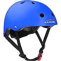 KAMUGO Kids Helmet,Toddler Helmet Adjustable Kids Helmet CPSC Certified Ages 3-8 Years Old Boys Girls Multi- Sports…