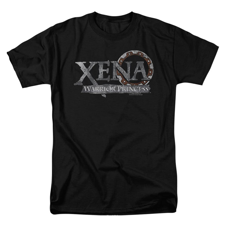 Xena Warrior Princess Fantasy TV Series Logo Adult T-Shirt Tee