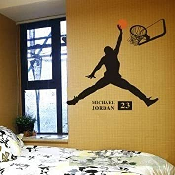 Basketball Wall DecalsSports Wall Decal for Boys 23 & Amazon.com : Basketball Wall Decals Sports Wall Decal for Boys 23 ...