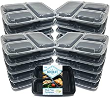 Save 25% on MealStax 20pk Meal Prep Containers by Goodlife Products LLC