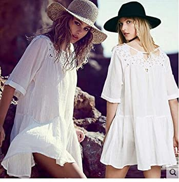 Los bordados de la playa bikini de abrigo de manga larga blusa camisa vestir ropa de