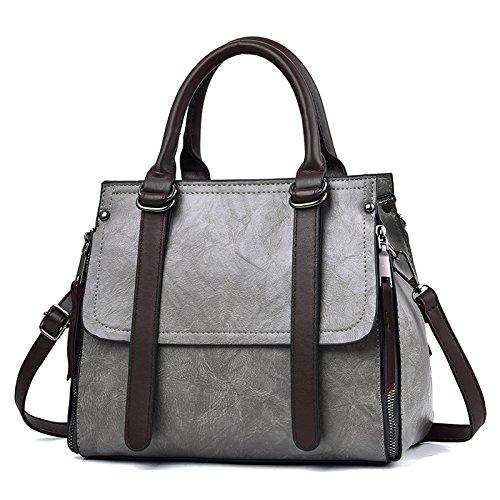 Magic GUANGMING77 Crossbody bag Personalidad Cloud Tide Bag Magic Lady Toda Bolso Correspondencia Bolsa Negro grey cloud Solo Simple r1vYrB