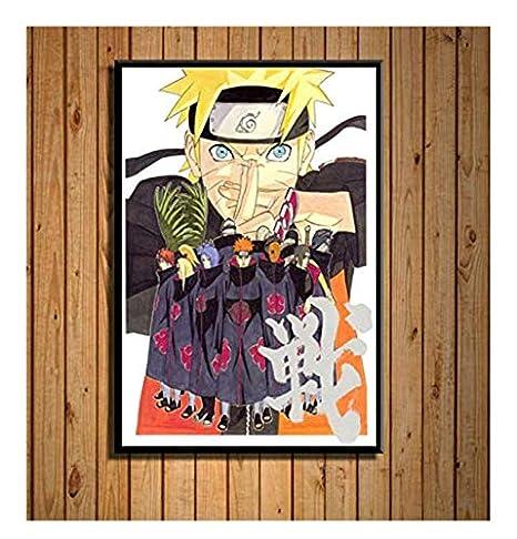PWERWOTAM Imagen de Arte de Pared Ninja Classic Anime ...