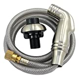 LASCO 08-1537 Kitchen Spray Head and Hose Assembly, Satin Nickel