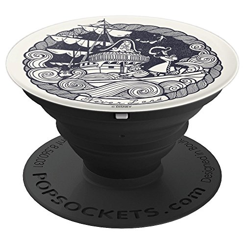 Disney Peter Pan Capitan Hook & Mr. Smee Sailing The Sea - PopSockets Grip and Stand for Phones and Tablets]()