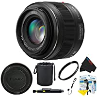 Panasonic Leica DG Summilux 25mm f/1.4 ASPH Micro 4/3 Lens + Pixi-Basic Accessory Bundle