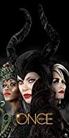 Once Upon a Time Evil Queens (Ursula, Cruella, Maleficent) Fantasy Drama Fairy Tale TV Television Show Poster Print 12x24
