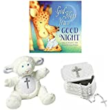 Baby Christening Baptism Gift Set – Keepsake Box Rosary...