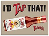 """Tapatio, I'D TAP THAT!, Officially Licensed Tapatio Hot Sauce Brand, Heavy Duty MAGNET - 2.5"""" x 3.5"""""""