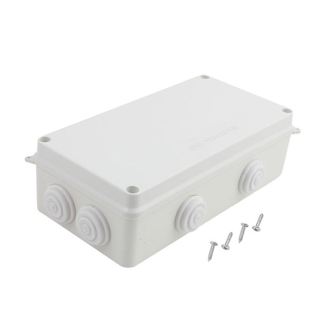 LeMotech ABS Plastic Dustproof Waterproof IP65 Junction Box Universal Electrical