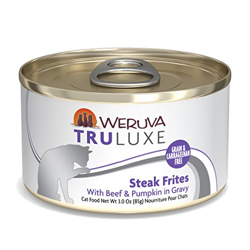 Weruva TruLuxe Cat Food, Steak Frites with Beef & Pumpkin in