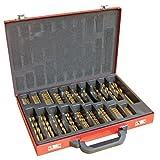 214-Piece Titanium Drill Bit Set