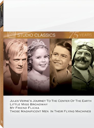 Classic Quad - Classic Quad Set 6 (Journey to the Center of the Earth / Little Miss Broadway / My Friend Flicka / Those Magnificent Men in Their Flying Machines)