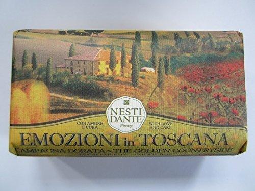 NESTI DANTE Emozioni di Toscana, Golden Countryside Soap 250 g by Nesti - Mall Stores Countryside