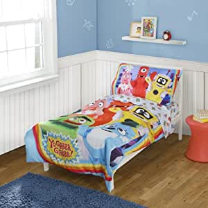 Yo Gabba Gabba Toddler Bedding Set (Discontinued by Manufacturer)