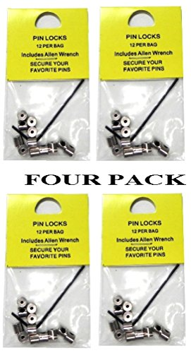 48 Locking Pin Keepers For Hat Lapel Vest by Pins Patches and More