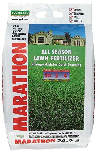 Marathon 24-2-4 All Season Fertilizer Bag, 18 lb