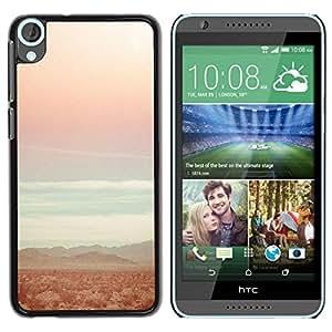 Be Good Phone Accessory // Dura Cáscara cubierta Protectora Caso Carcasa Funda de Protección para HTC Desire 820 // Teal Beach Sun Sunset Summer Surfing
