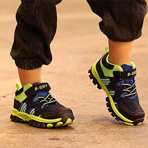 Mädchen 37 Gr Sneaker Warm Sportschuhe Jungen Mit Kinder Hallenschuhe Gefüttert Trekking Kinderschuhe Wanderschuhe Grün Turnschuhe Schneestiefel Jungen KVbaby 30 Blau qAFTST
