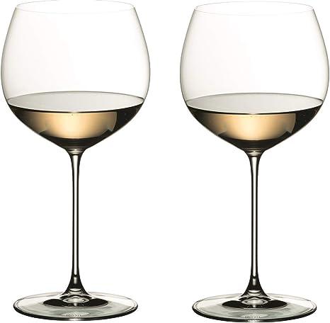 RIEDEL 6449/97 Veritas OAKED Chardonnay (Estuche de 2 Copas): Amazon.es: Hogar