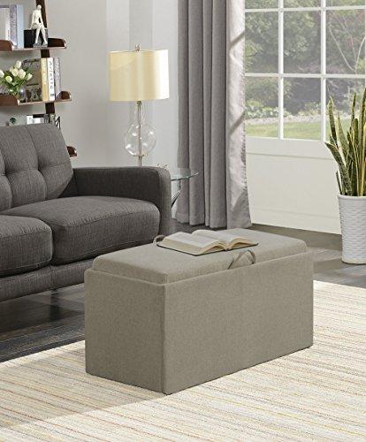 Convenience Concepts  Designs4Comfort Sheridan Storage Bench