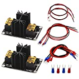 Hot Bed Module, FYSETC Add-on Heat Bed Power Module Expansion Board High Current Load Module Mosfet Tube for 3D Printer - Pack of 2