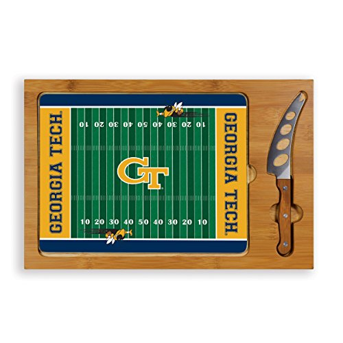 NCAA Georgia Tech Yellow Jackets Icon Cheese Set (3-Piece) (Cutting Logo Board Tech)