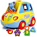 SGILE Auto-Sensing Happy Elephant Educational Musical Car Toy