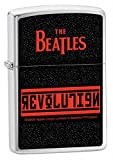Zippo The Beatles Revolution Pocket Lighter (Black, 5 1/2 x 3 1/2 cm)