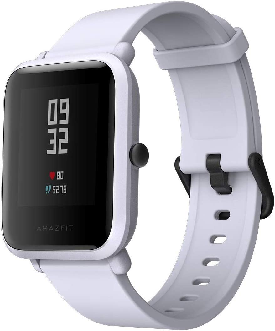 Xiaomi Huami AMAZFIT - Reloj Inteligente con Sensor geomagnético IP68, Impermeable, Monitor de Ritmo cardíaco para el sueño, GPS de 45 días en Espera, para iOS y Android