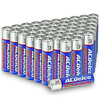 Powermax USA ACDelco AAA Batteries, Alkaline Battery, 48 Count (AC274)