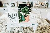 Rae Dunn Inspired/Kleenex Box Cover/Bless You/House Kleenex Box/Housewarming Gift/Realtor Closing Gift/Umbra Kleenex Box