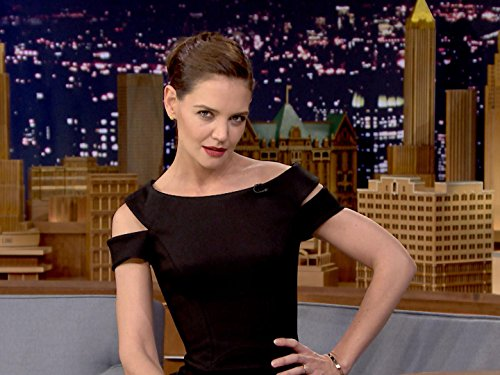 Highlights   Katie Holmes Shows Off Her Beyonc  Super Bowl Halftime Show Moves