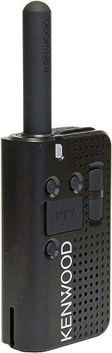 Retevis RT18 2 Way Radios Walkie Talkies Long Range Adults Dual PTT Rechargeable Two Way Radios with Metal Belt Clip Volume Adjustment Earpiece 10 Pack