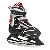 Bladerunner Ice by Rollerblade Micro XT Junior, Adjustable, Black and Red, Ice Skates
