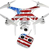 MightySkins Protective Vinyl Skin Decal for DJI Phantom 3 Standard Quadcopter Drone wrap cover sticker skins Colors Dont Run