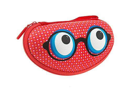 ZIPIT Beast Box Glasses Case, Red Photo #5