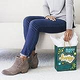 Hallmark Medium Birthday Gift Bag with Tissue Paper (Happy Happy Birthday)