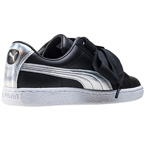 silver Puma Basket Deportivas Explosive 36362602 black Heart Negro nn4wqCxpO