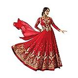 Red Bollywood Wedding Ceremony Long Custom to Measure Anarkali Salwar Suit Muslim Bridal Gown Dress Ethnic 775
