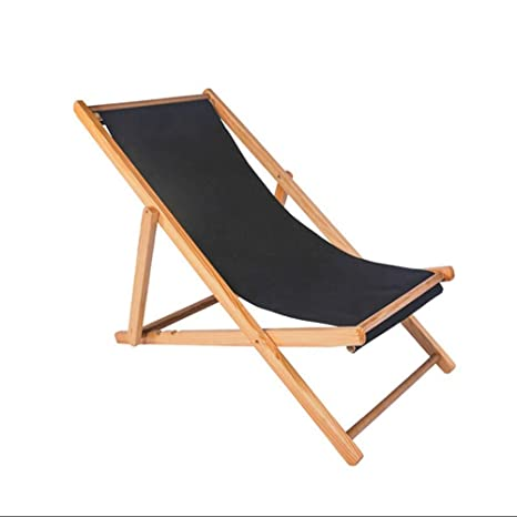 Amazon.com: ZR - Sillas plegables de madera para playa ...