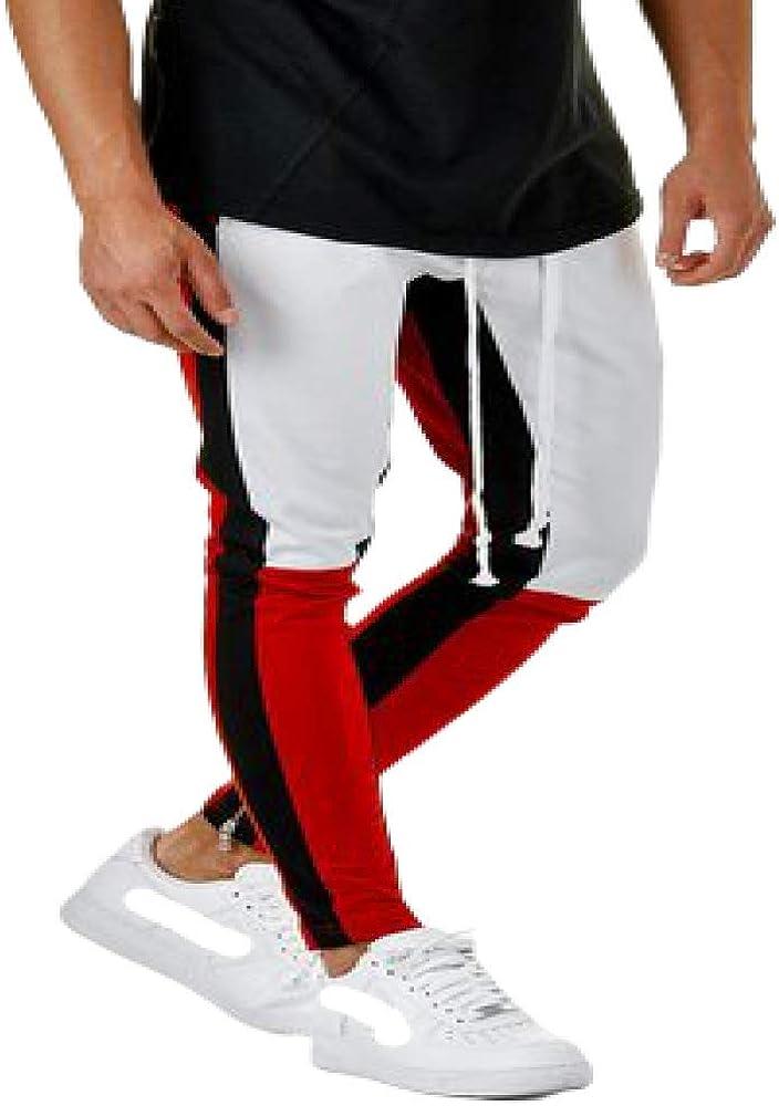 Pantalones para Hombre Pantalones Deportivos Deportivos Pantalones Deportivos con cordón Color a Juego Pantalones Deportivos Harén Pantalones de Trabajo de Combate de Carga de Resistencia
