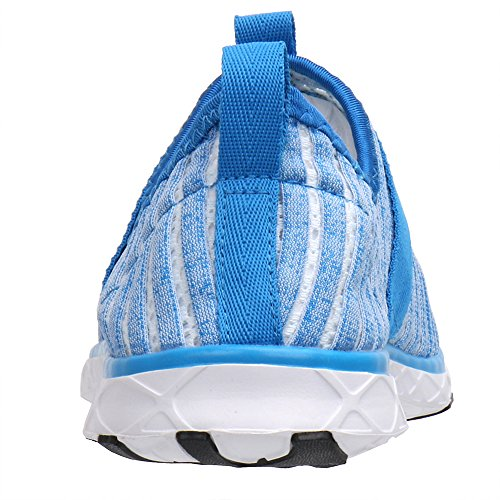 ALEADER Womens Mesh Slip on Water Shoes Light Blue 9976 GbpIsSYe