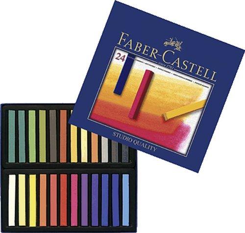 FABER-CASTELL GOLDFABER Studio Softpastellkreiden/128324 sortiert Inh.24
