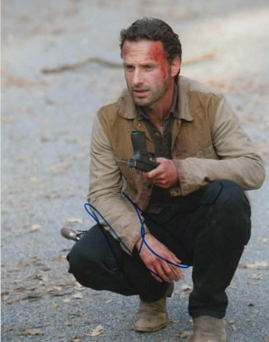 ANDREW LINCOLN (The Walking Dead) signed 8x10 photo by Authentic Autographs
